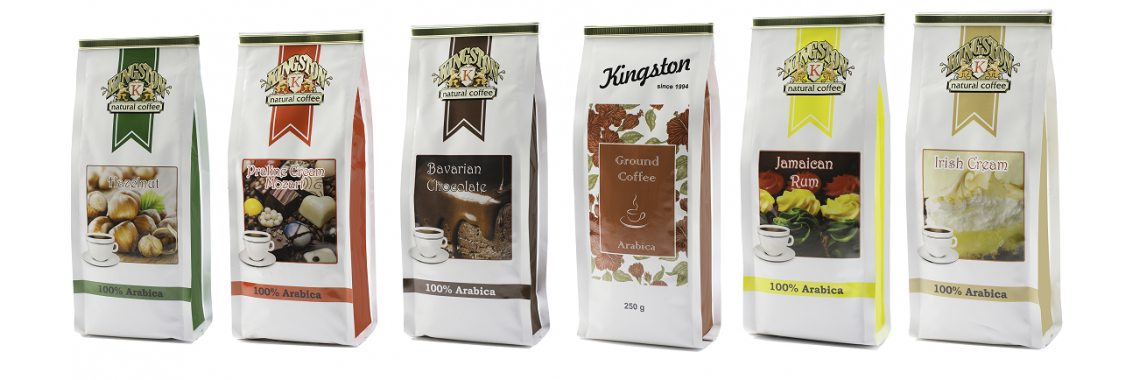 Kingston Flavored Coffee Grounds